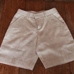 Sri panwa Male Linen Shorts - Brown