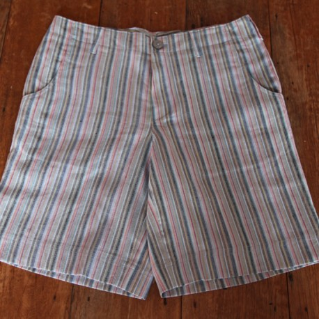 Sri panwa Male Linen Shorts - Rainbow
