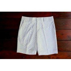 Sri panwa Male Cotton Shorts - Light Blue / White Line