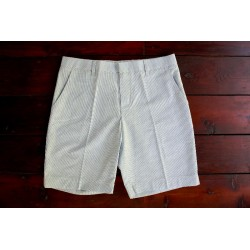 Sri panwa Male Cotton Shorts - Blue / White Line