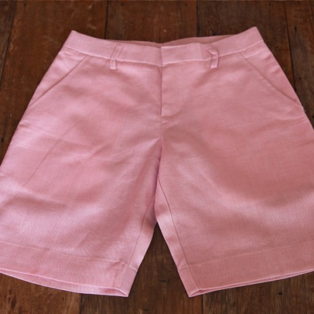 Sri panwa Female Linen Shorts - Pink