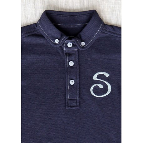 S Chino Polo Navy - Kid