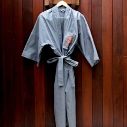 Bathrobe Grey
