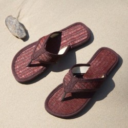 Dark Brown Beach Sandals