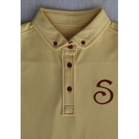 S-Chino Male Polo - Yellow