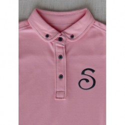 S Chino Female Polo - Pink