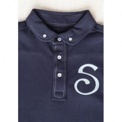 S Chino Female Polo - Navy