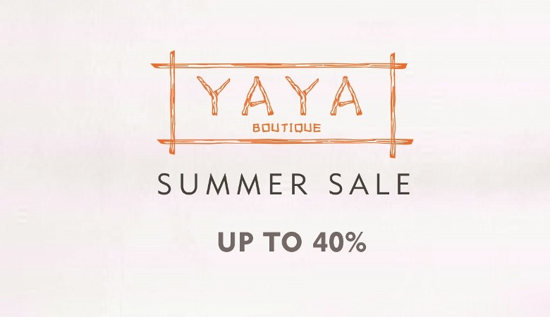 Yaya Boutique Summer Sale 2016